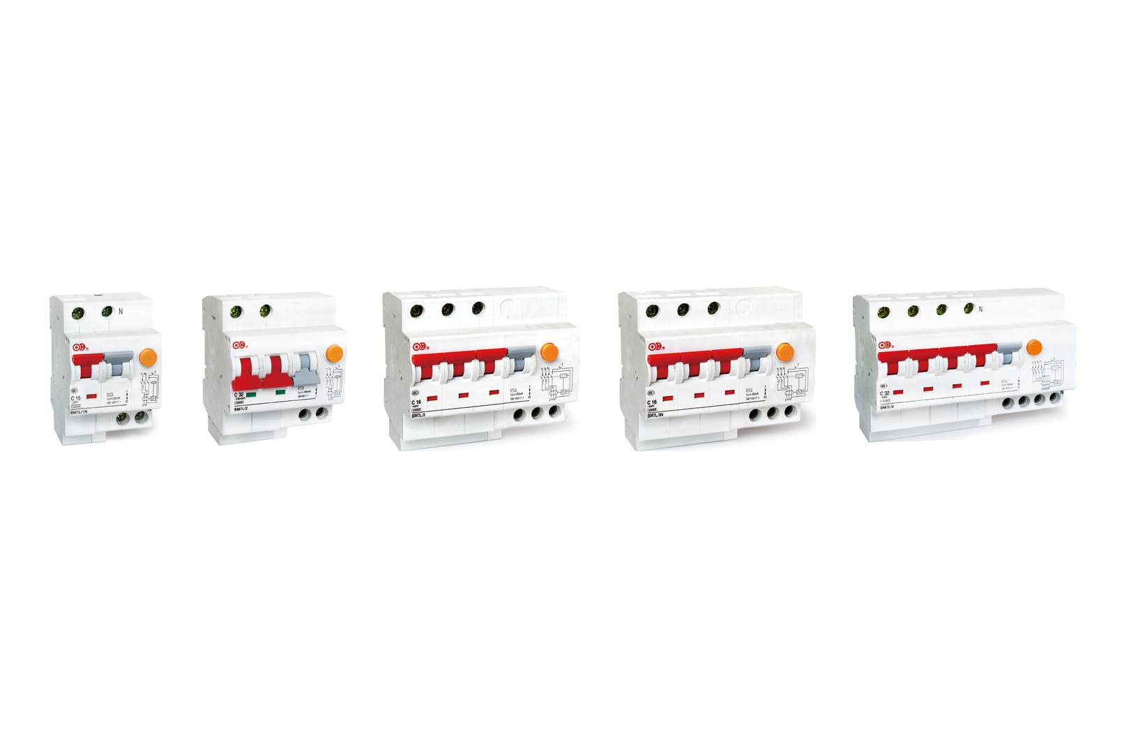 BM7L 系列带过电流保护的剩余电流动作断路器(电子式)