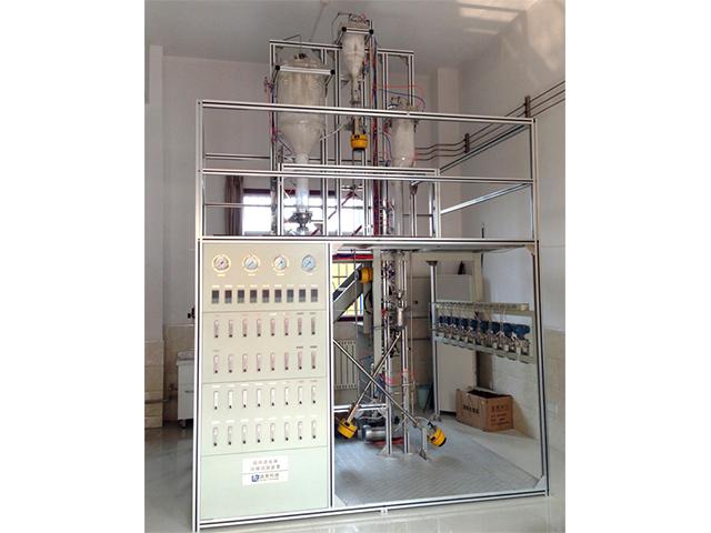 循環流化床冷模試驗裝置