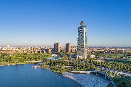 振石總部大樓以城市新高度榮耀落成