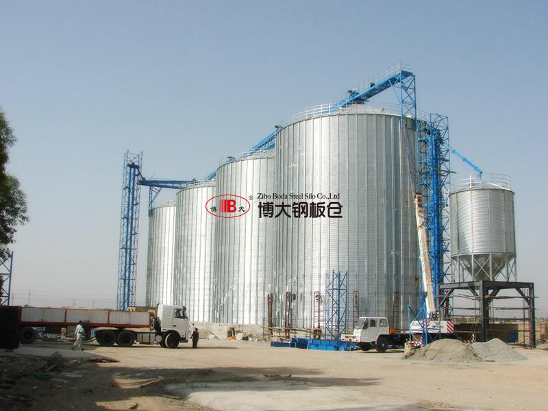伊朗5000噸筒倉