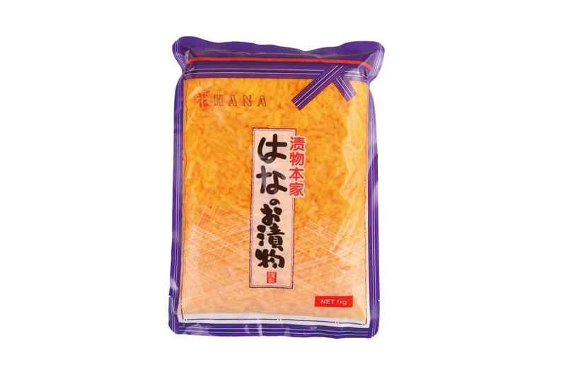日式黃蘿卜絲1kg
