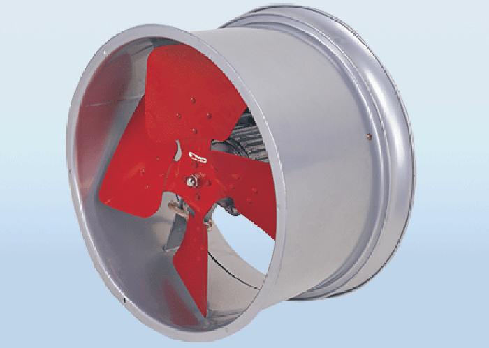 強力圓型工業壁式風機