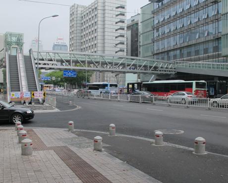 寧波第一醫院人行天橋
