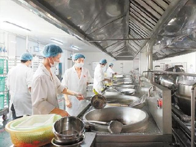 浙江某大学学生厨房项目