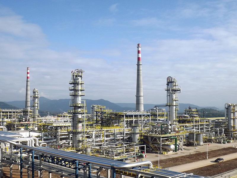 元坝天然气净化厂第一二三四联合装置