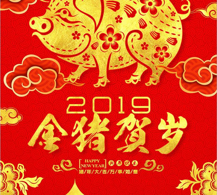在新春來臨之際,恭祝所有新老客戶 闔家歡樂,幸福綿長,事業綿長,豬年大吉!