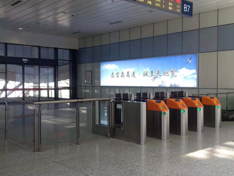 高铁出入口闸机系统