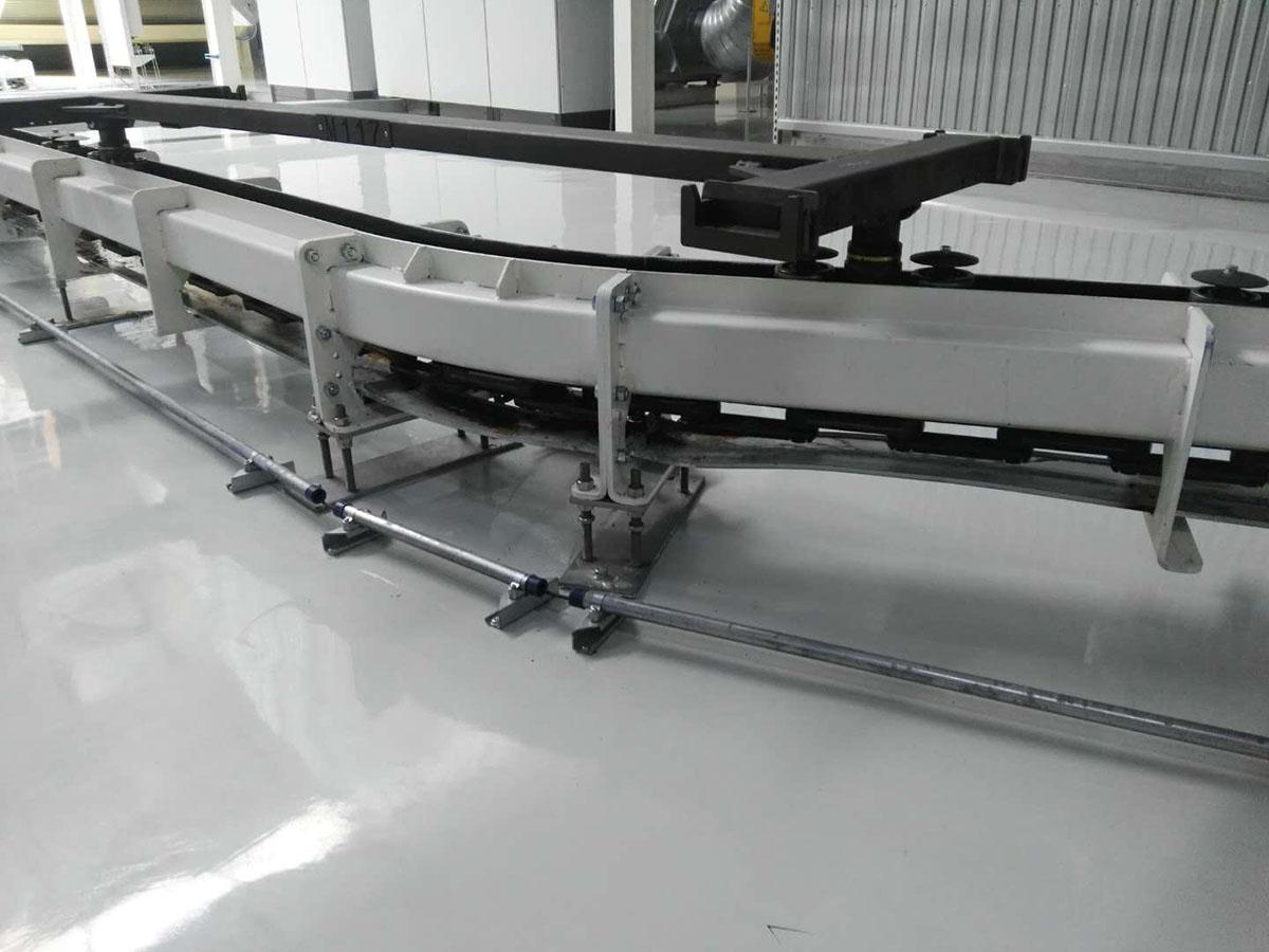 DTJ4地面反向積放式輸送機
