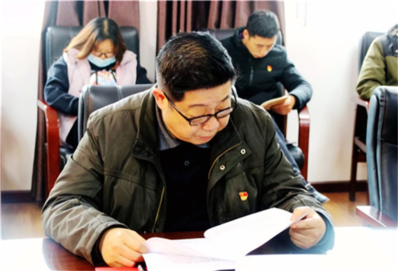 中材宜昌公司開展學習黨史主題黨日活動