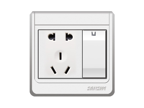 S-A6.0 一位單(雙)控開關二三極插座