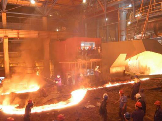 高爐出鐵場施工項目及技術支持