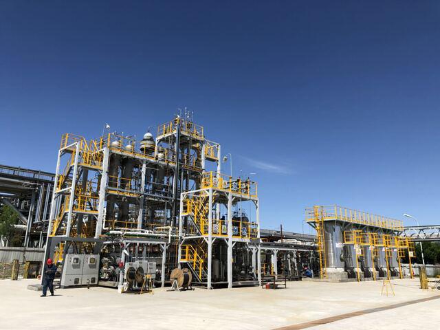 百噸級重油加氫試驗裝置