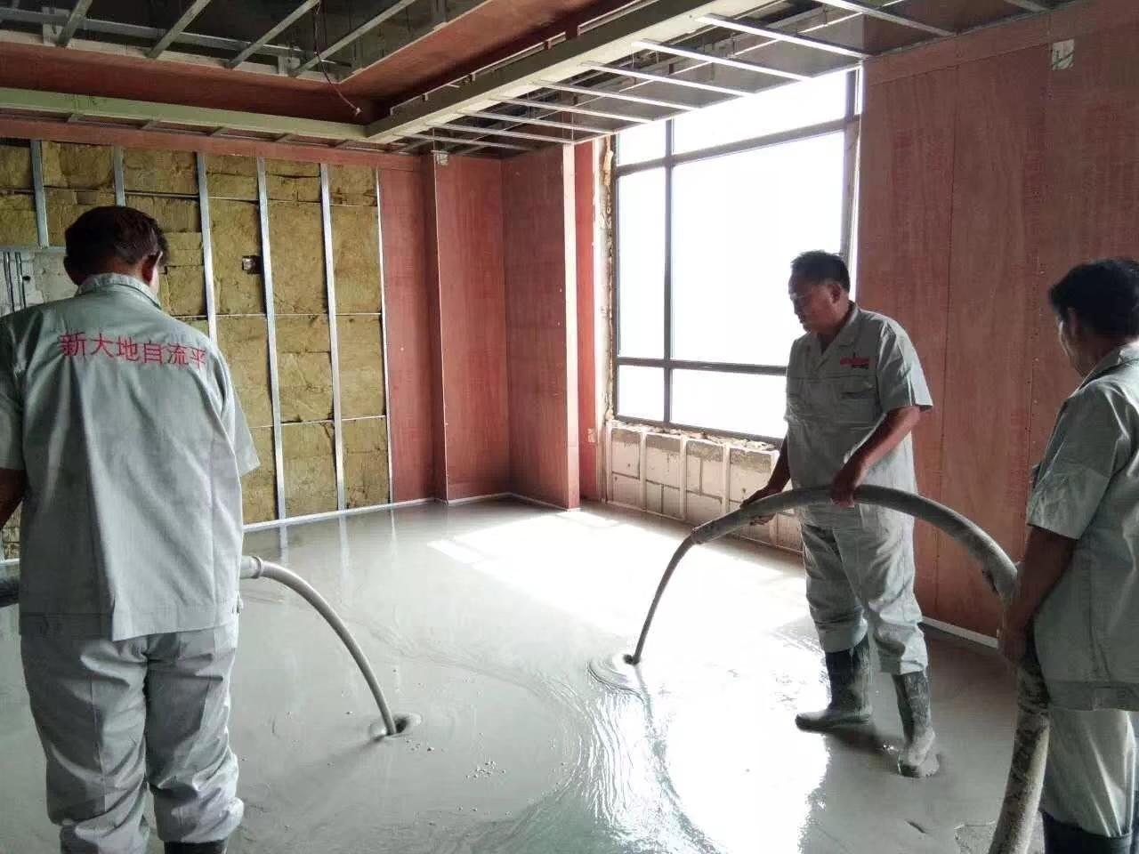 厚层自流平水泥砂浆在现代建筑行业的优势