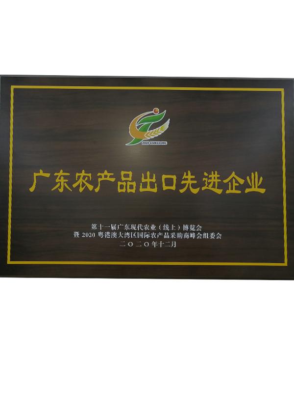 廣東農產品出口先進企業
