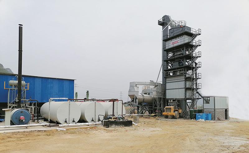LB3000XC(下置仓)沥青混合料搅拌设备