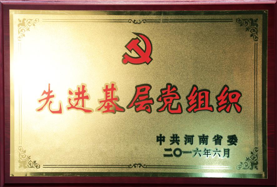 河南省委先進基層黨組織