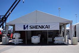 2015年4月神开股份参展第46届美国石油技术展览会(OTC)