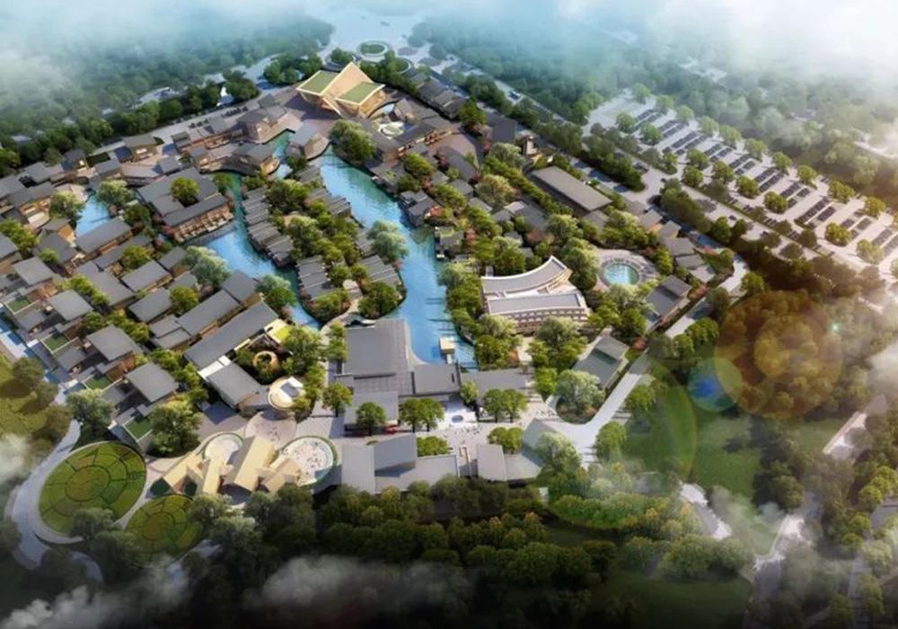 水運動休閑小鎮一期項目文旅核心區1幢樓游客中心