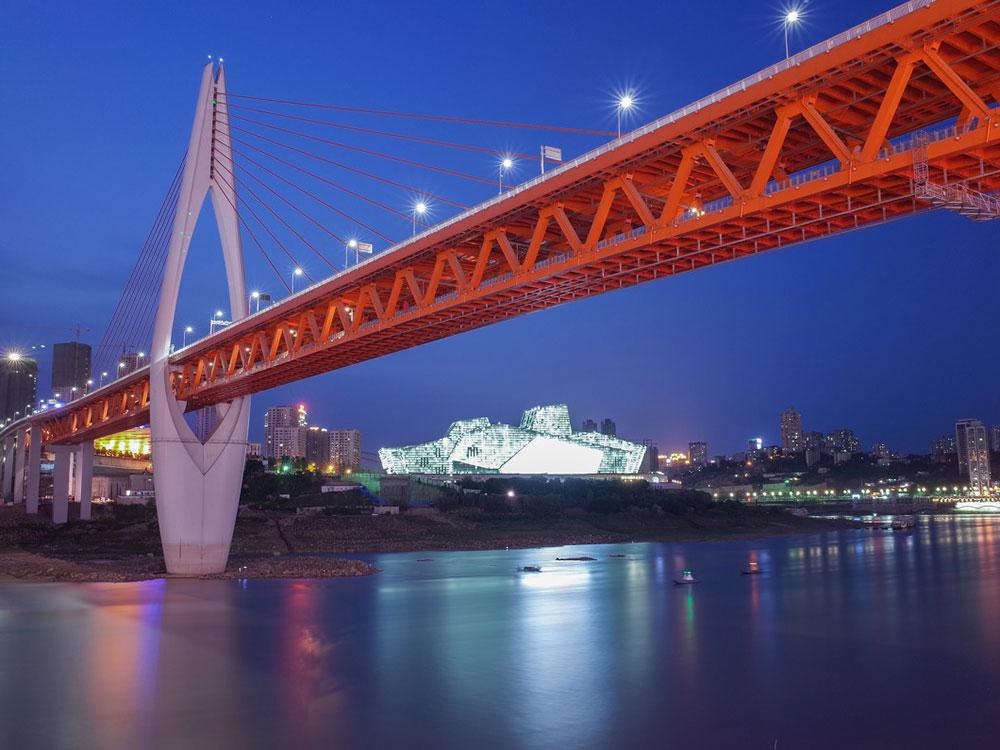 重庆嘉陵江千厮门大桥
