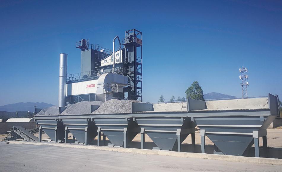 J3000CN(旁置仓)集装箱式沥青混合料搅拌设备