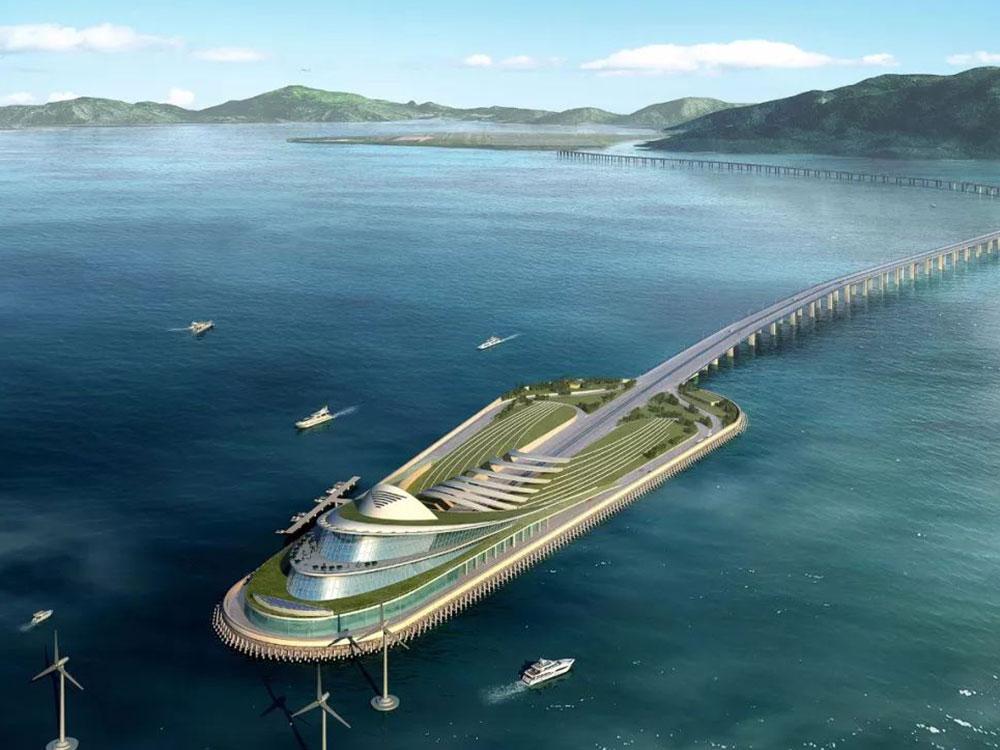 珠海港珠澳大桥—香港口岸