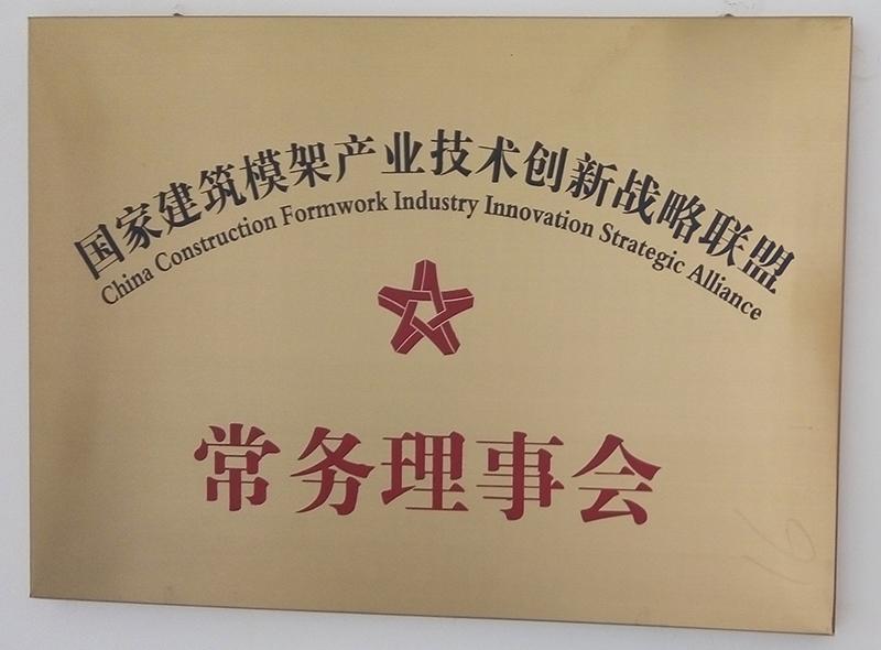 國家建筑模架產業技術創新戰略聯盟常務理事會