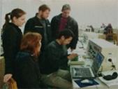 公司技术人员现场演示实验概况