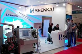 2015年6月神开股份参展第13届俄罗斯国际石油天然气展览会