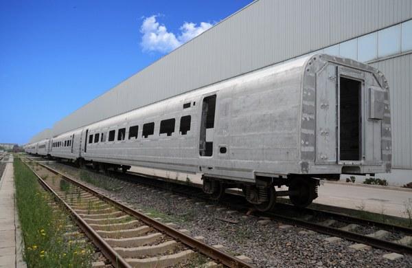 高速列車車體模塊