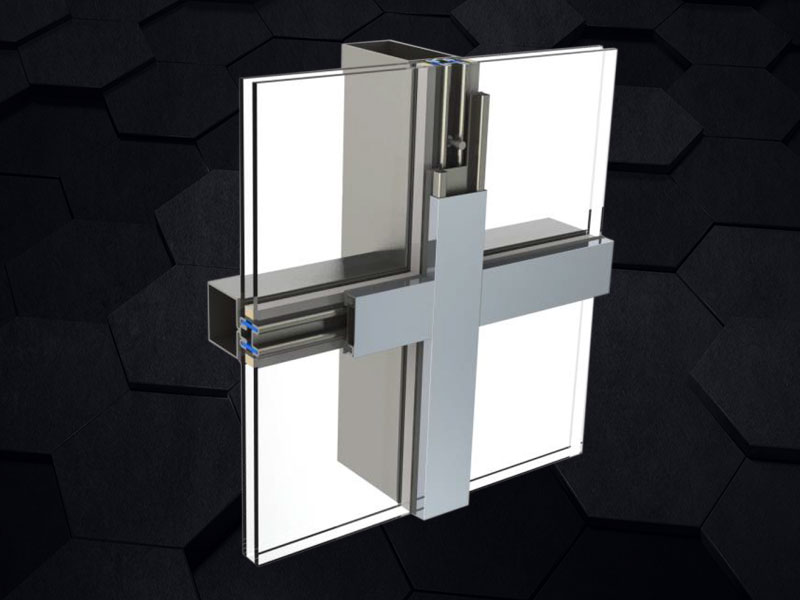 GMQ-60F窄框断桥型材钢幕墙系统