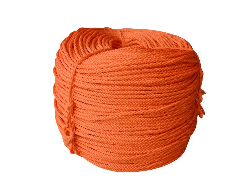 桔紅色四股八花安全繩