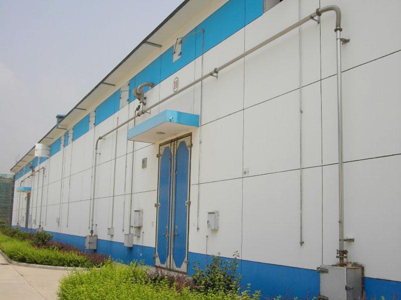 糧食儲備庫密閉門窗工程及環流薰蒸系統