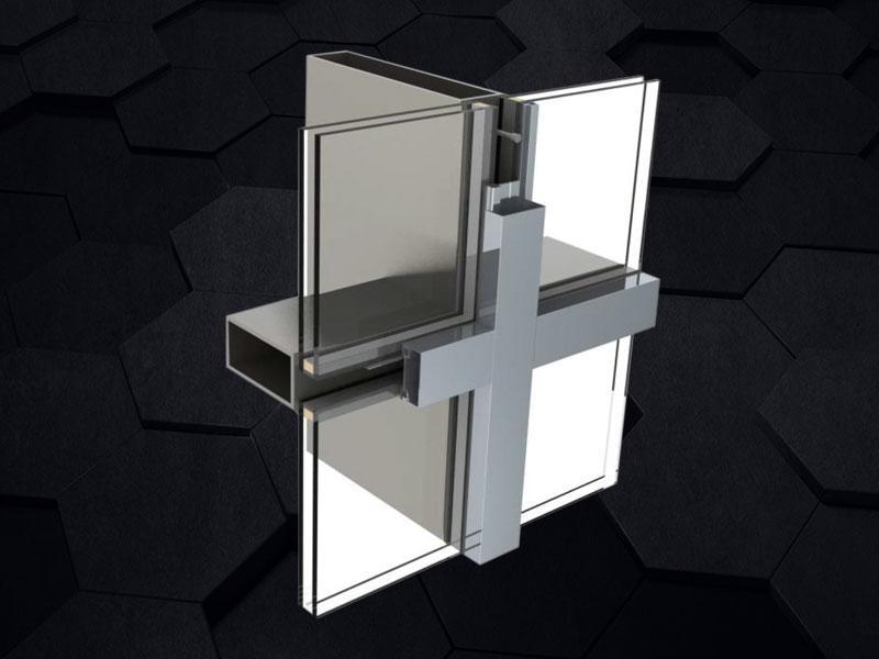 GMQ-60H窄框超大跨度钢幕墙系统