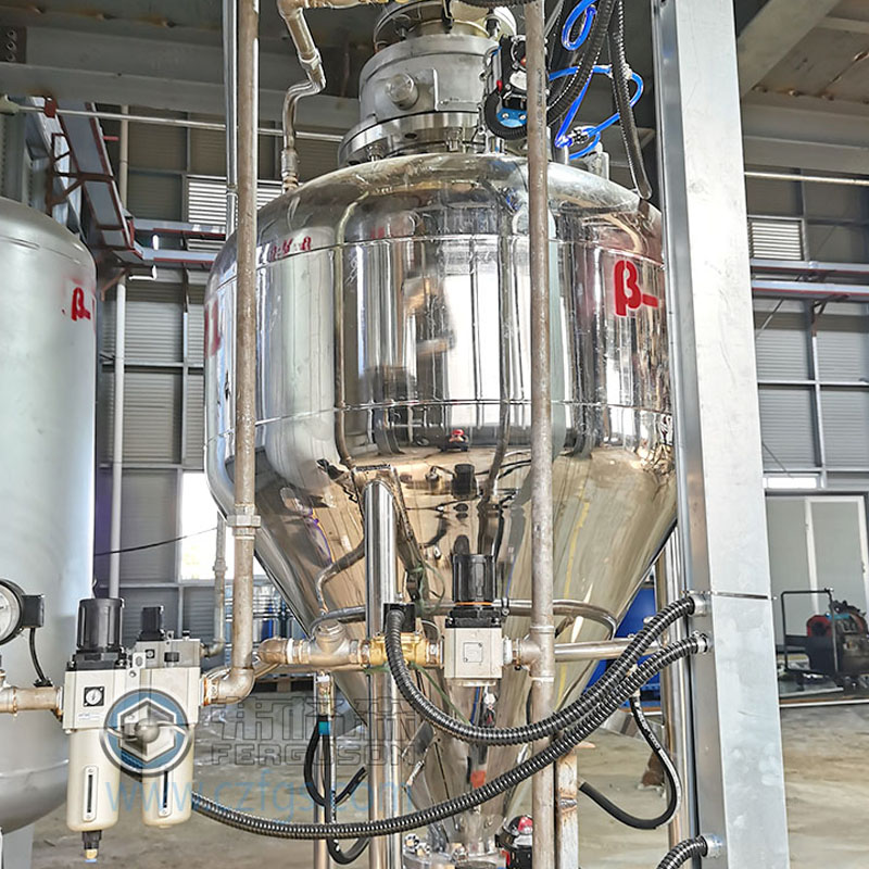 正壓倉泵氣力輸送系統