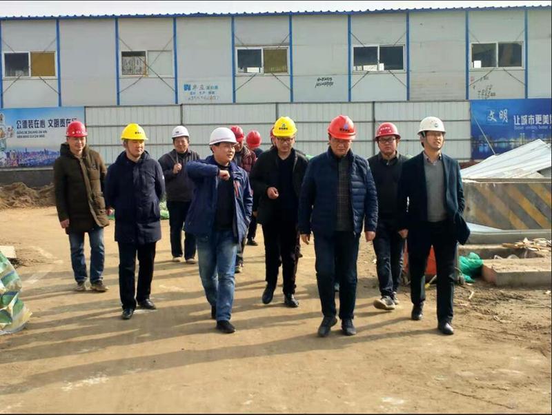 合肥市重點局姚副局長一行省級綜合警務服務中心項目調研