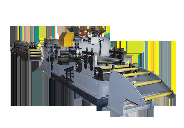 SBL系列数控冲孔辊压生产线