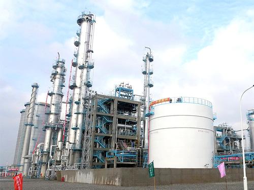 上海中石化三井40萬噸年苯酚丙酮裝置管道安裝工程