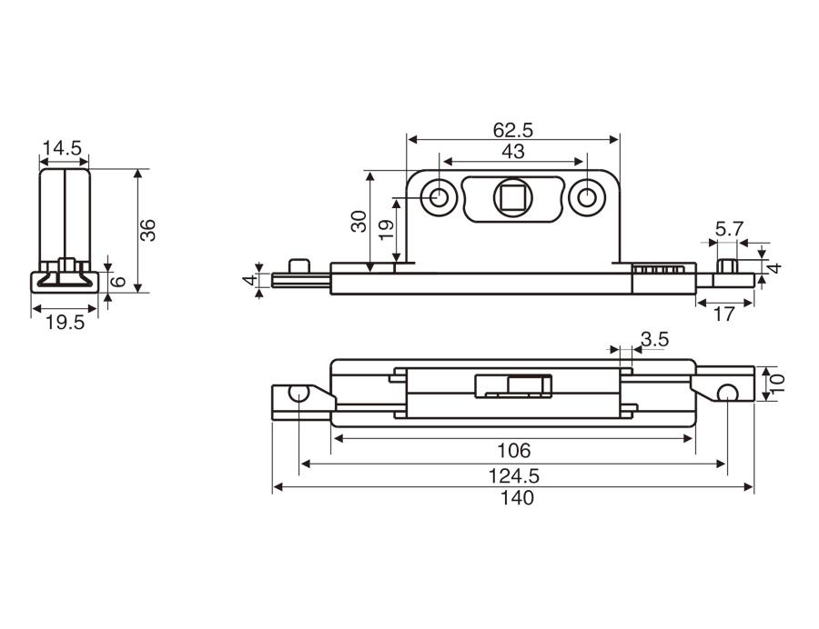 D004C 雙向傳動盒
