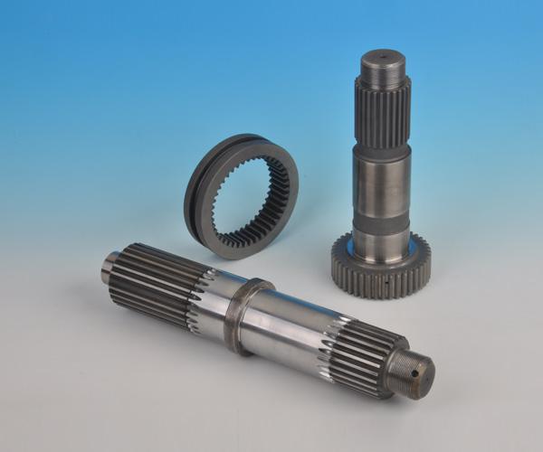 泵車用花鍵軸和換檔花鍵套b