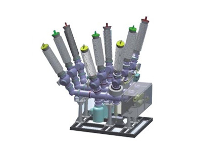 ZHW-126(L)/T3150-40六氟化硫氣體絕緣復合式組合電器