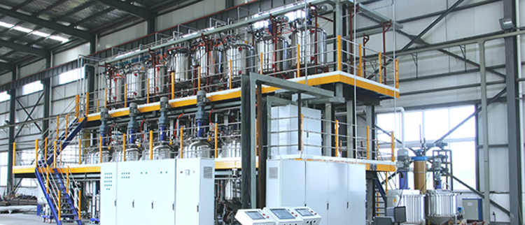 Sower successfully signed the special prepolymer production device design project