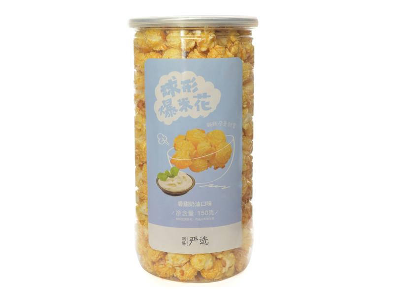 预制微波玉米花黄油自然口味118g