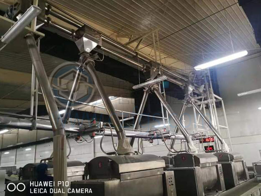 面粉輸送系統