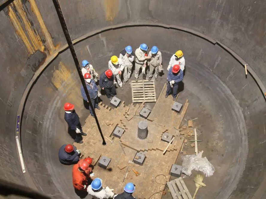 轉爐爐體砌筑施工項目及技術支持