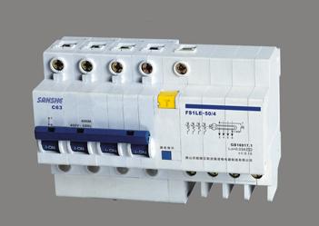 FS1LE-50/4PL 塑料外殼漏電斷路器