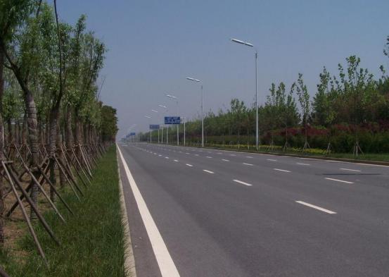 沿江大道公路改造工程