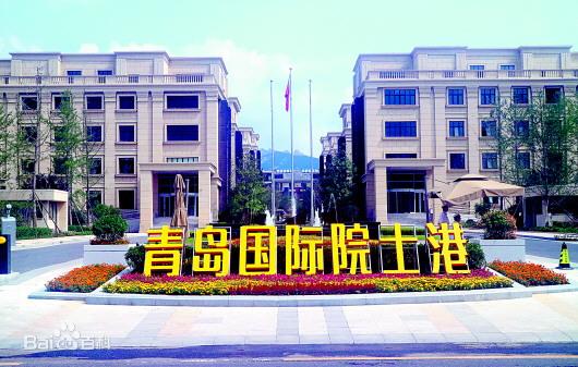 青岛国际院士港定制显示屏项目