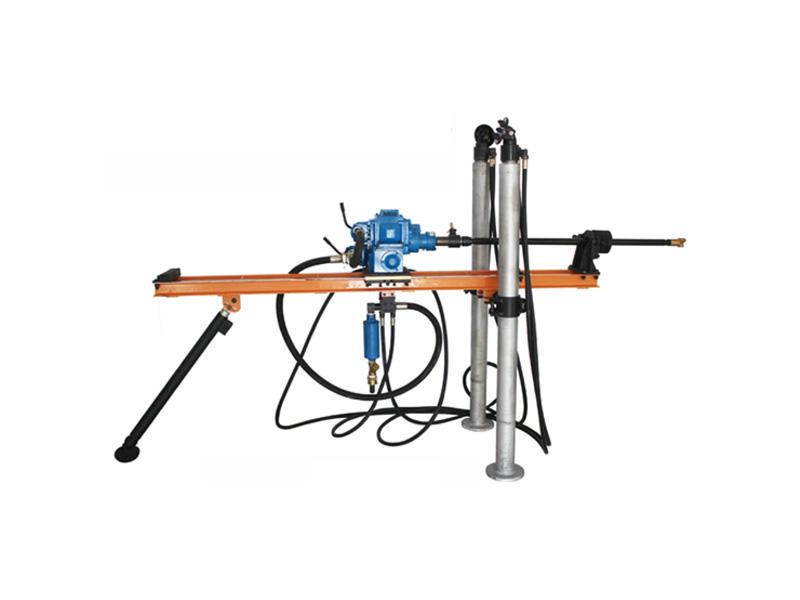 气动架柱式钻机 双架柱型气动钻机 瑞龙钻具