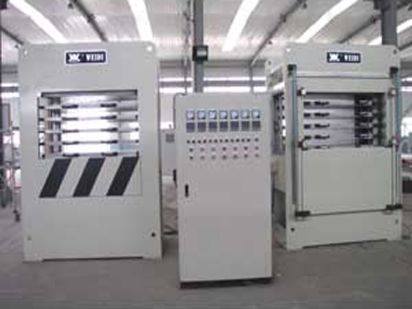 Special press for 200T-5 layer electronic connector