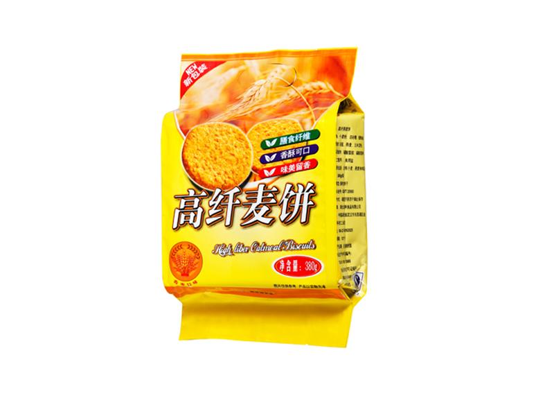 吉利高纤无蔗糖燕麦饼干(香麦口味)